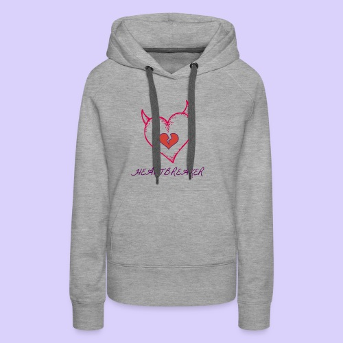 Heart Breaker - Women's Premium Hoodie
