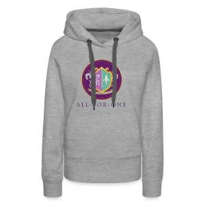 All For One Logo - Women's Premium Hoodie