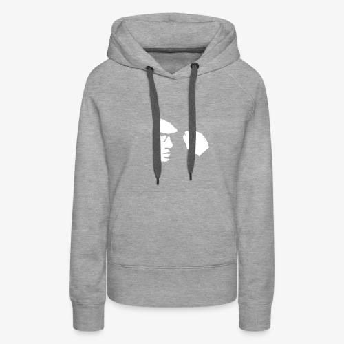 Justin Dion Face Logo - Women's Premium Hoodie