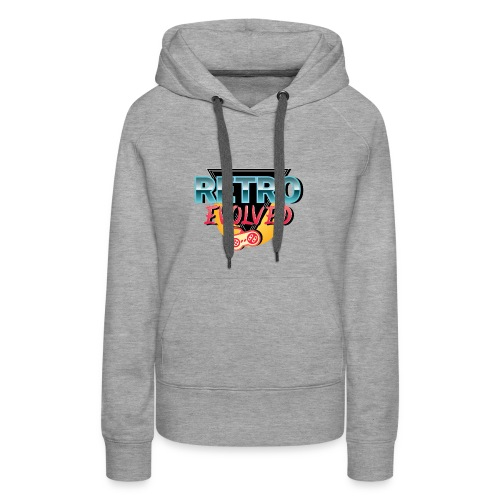 Retro Evolved - Women's Premium Hoodie