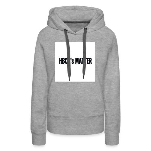 HBCU's Matter - Women's Premium Hoodie