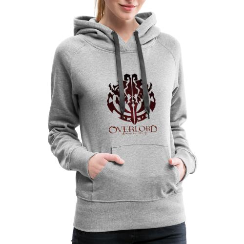 Anime - Overlord Ainz Ooal Gown Crest - Women's Premium Hoodie