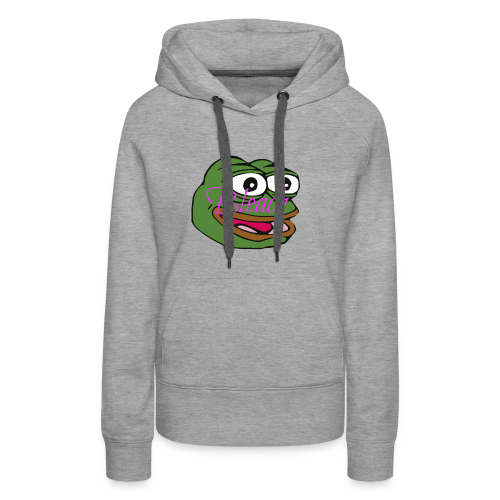 AnonymousBleach (Green Bleach Loving Frog) Shirts - Women's Premium Hoodie