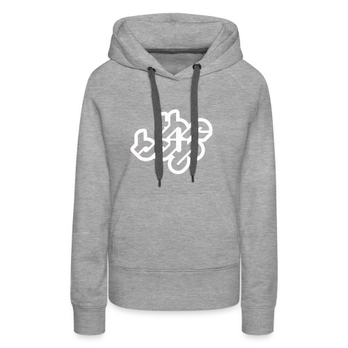 The Boys official logo - white - Women's Premium Hoodie
