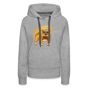 Bulldog Stubborn Yet Friendly - Women's Premium Hoodie