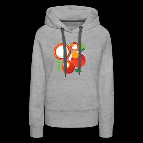 Abstract Oranges - Women's Premium Hoodie