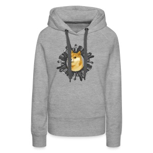 Doge all around (meme) - Women's Premium Hoodie
