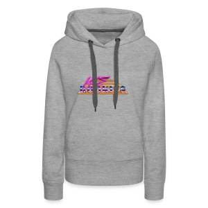 80s we Rookies T shirt design (transparent) - Women's Premium Hoodie