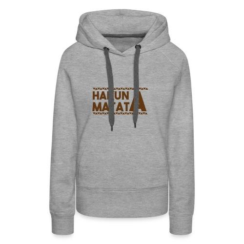 Matata 1 - Women's Premium Hoodie