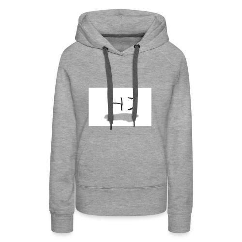 HJ small letter merch - Women's Premium Hoodie