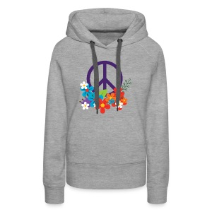 Hippie Peace Design - Women's Premium Hoodie