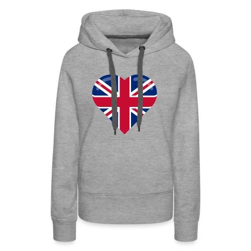 brit heart - Women's Premium Hoodie