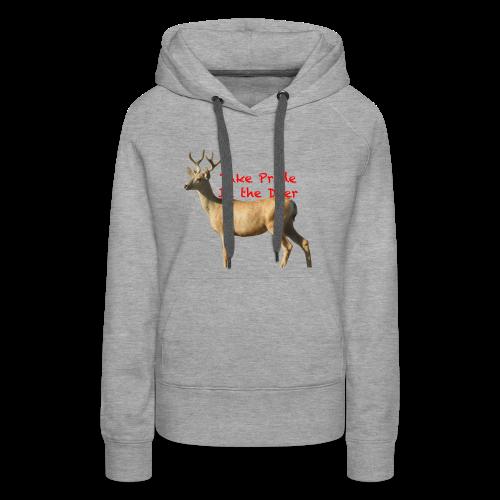 Take Pride in the Deer - Women's Premium Hoodie