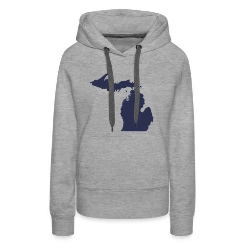 MI Michigan - Women's Premium Hoodie