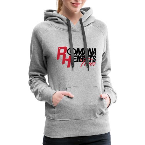 Romana Heights Logo Light - Women's Premium Hoodie