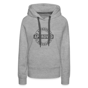 Approved Stamp - Women's Premium Hoodie
