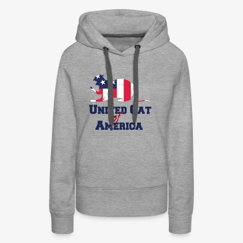 United cat of america - Women's Premium Hoodie