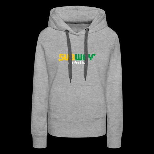 5ubway Print - Women's Premium Hoodie