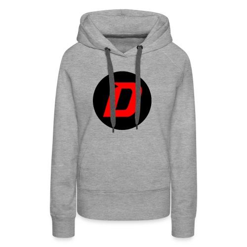 DAVONTAETV Black/Red - Women's Premium Hoodie