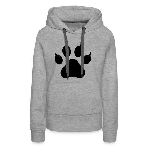 Cat Pawprint - Women's Premium Hoodie