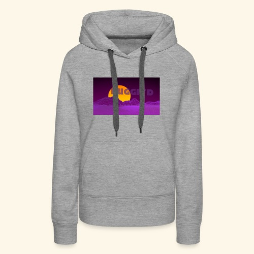 purple boy shirt - Women's Premium Hoodie