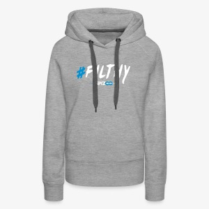 #Filthy Black - Spizoo Hashtags - Women's Premium Hoodie