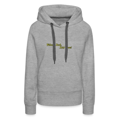 Welcome Back, Rich Crew - Women's Premium Hoodie
