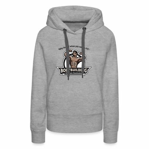 Ultimate Dominator Fitness Logo - Women's Premium Hoodie