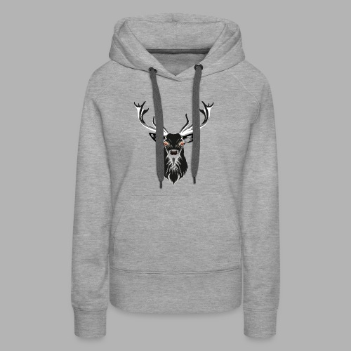 Evil Stag - Women's Premium Hoodie
