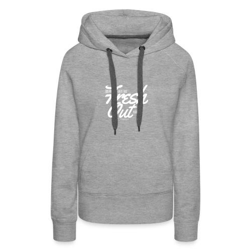 Fresh Out Beats Logo 24 - Women's Premium Hoodie