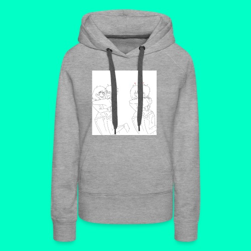 Cute couple - Women's Premium Hoodie