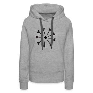 9 Darts Dart Shirt - Women's Premium Hoodie