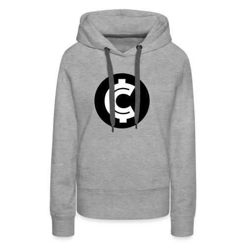 Crypto Coin RIch Logo - Women's Premium Hoodie