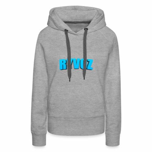 Ryvoz RuiZhi 3D logo - Women's Premium Hoodie
