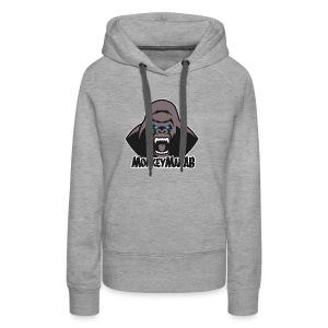 MonkeyManAB Logo - Women's Premium Hoodie