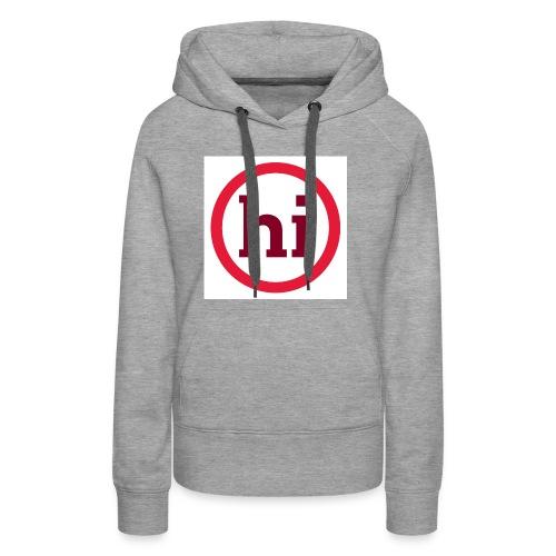 hi T shirt - Women's Premium Hoodie