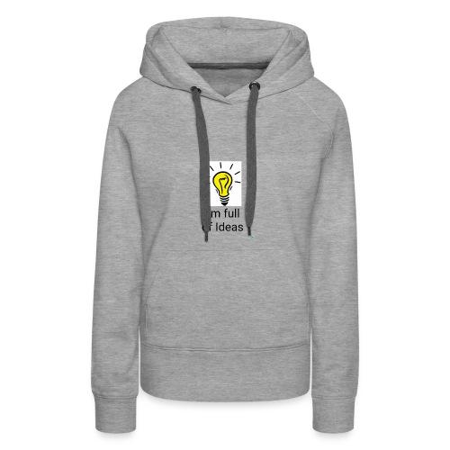 Full of Ideas Apparel - Women's Premium Hoodie