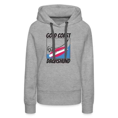 Gold Coast Dachshund - Women's Premium Hoodie