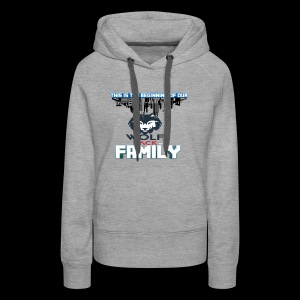 We Are Linked As One Big WolfPack Family - Women's Premium Hoodie