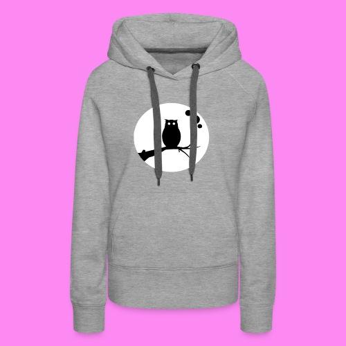 the owl awake - Women's Premium Hoodie