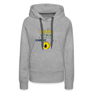 Heights of laziness - Women's Premium Hoodie