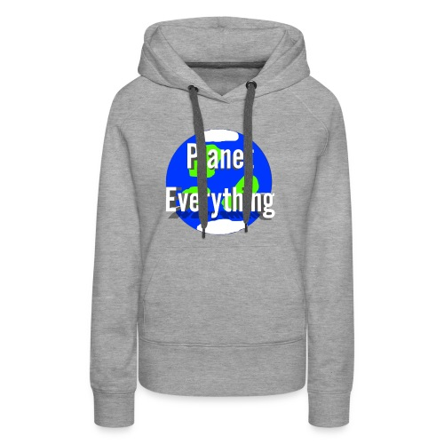 Planet Circle logo merchandise - Women's Premium Hoodie