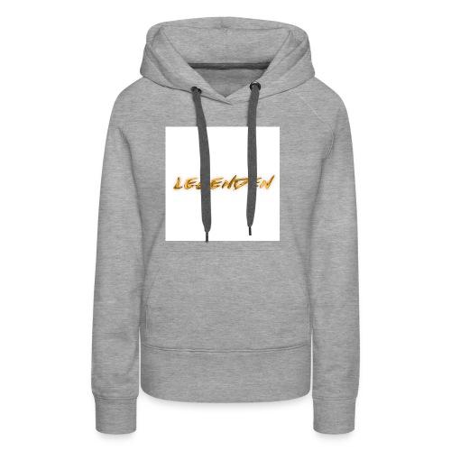Hvit bakgrunn - Women's Premium Hoodie