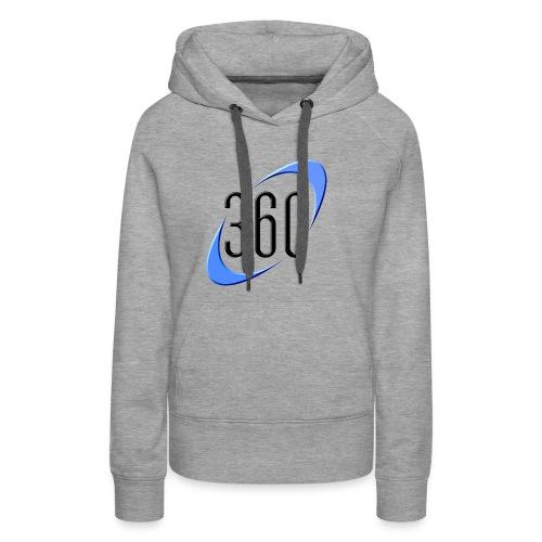 360 The Logo! - Women's Premium Hoodie