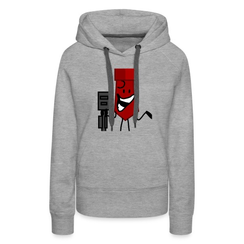 And Then He Went Like - Women's Premium Hoodie
