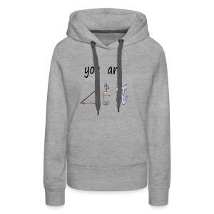Romantic You Are The Right Cup of Pie - Women's Premium Hoodie