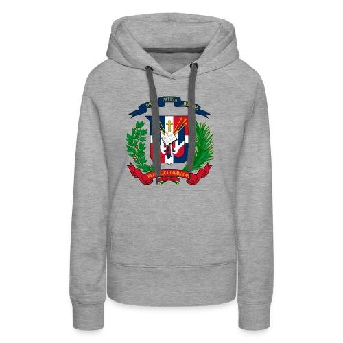 Dominican shield - Women's Premium Hoodie