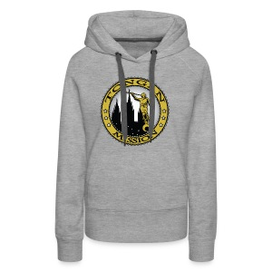 Tongan Mission - LDS Mission Classic Seal Gold - Women's Premium Hoodie