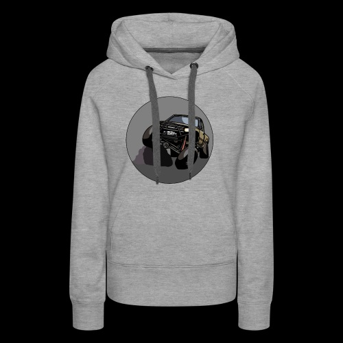 The Jalopy Circle - Women's Premium Hoodie