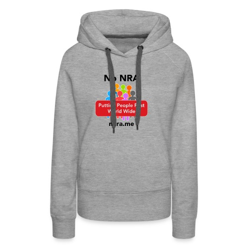 No to the NRA - Women's Premium Hoodie